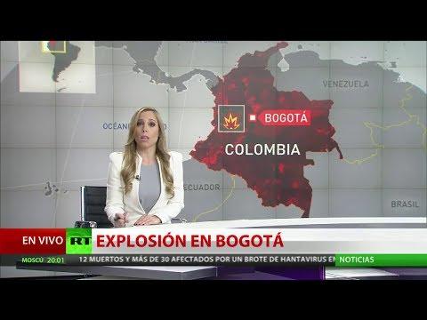 RT en Español: Al menos ocho muertos tras la explosión de un carro bomba en una escuela de cadetes de Bogotá