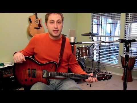 Godin LGX-SA Acoustic/Electric Demo for Worship Use