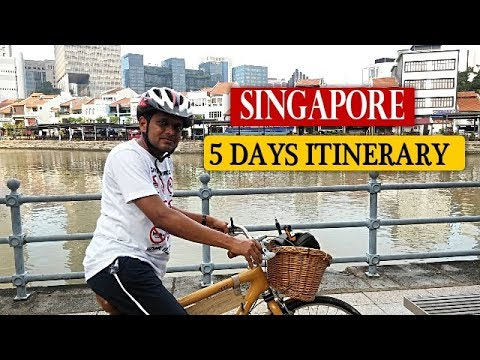 SINGAPORE 5 DAYS ITINERARY TRAVEL GUIDE AND TIPS IN HINDI