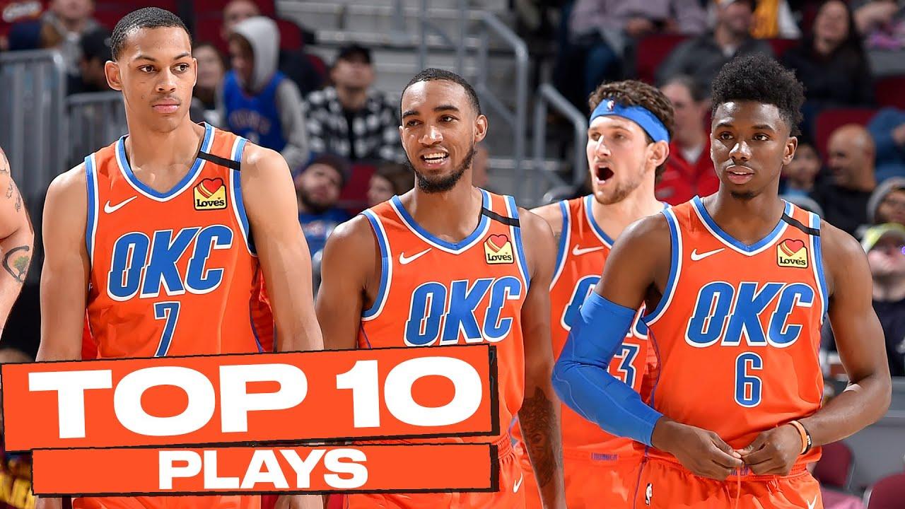 Top 10 Oklahoma City Thunder Plays of The Year! 💯