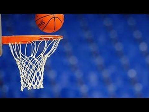 Обучение игре в баскетбол:Ведение мяча,бросок,обводка. Видеоурок №1