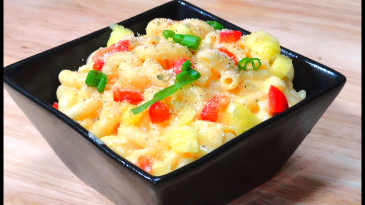 Pineapple Macaroni And Cheese Recipe By Bhavna Simple And Quick Youtube