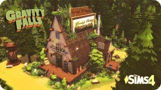 The Sims 4 - Хижина Чудес из Гравити Фолз : Строительство