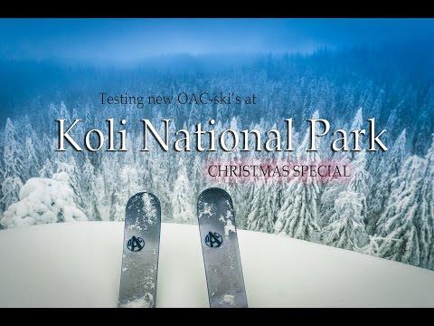 Koli National Park - Ski Test