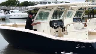 Scout Boats 320 LXF - Walk Thru Video