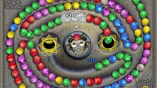 [Zuma Deluxe] How to lose all lives on 1 level - Sun God 52, Snake Pit