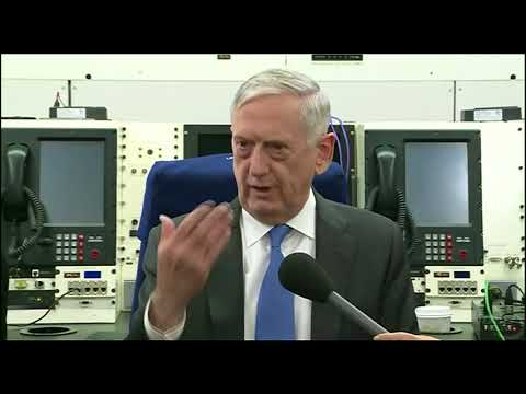 Defense Secretary Mattis: ISIS and Syrian pro-regime attack on SDF, No Russian involvement 2/13/2018