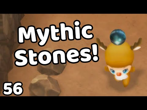 Story Of Seasons Friends Of Mineral Town Switch Remake Mining For Mythic Stones English Youtube