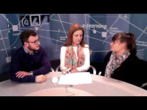 Erasmus  -  Carlos e Patricia conversa com  Daniela Melaré -  2017