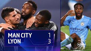 Man City vs Lyon (1-3) | UEFA Champions League Highlights