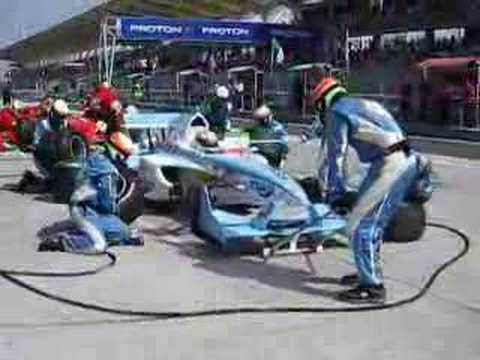 A1 Team India Pit-Stops