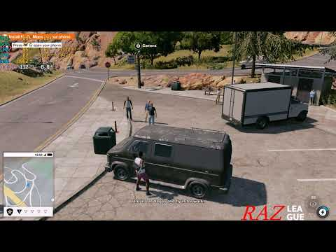 WATCH DOGS 2 - GTX 1070 laptop MSI GE73 8RF | LOW SETTING |