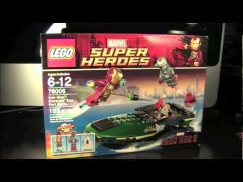 Lego marvel super heroes iron man 3 iron man extremis sea - Lego iron man extremis sea port battle ...