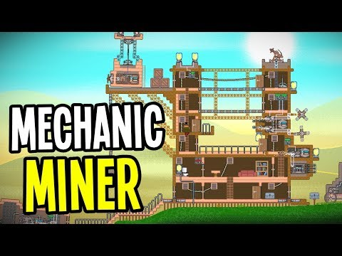 Steampunk Mining, Building and Survival Sandbox! - Mechanic Miner Gameplay