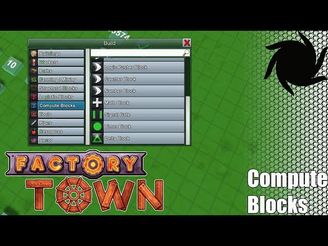 Factory Town Compute Blocks - Part 2