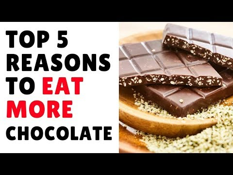 5 Good reasons to Eat Chocolate