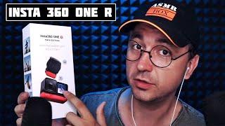 АСМР Моя Новая Экшн Камера Insta 360 One R - Убийца Gopro ?
