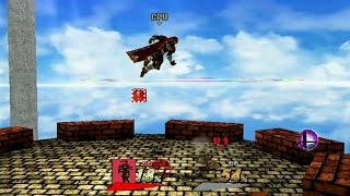 Skull Kid's Final Smash - Watching the World Burn - SSBB Hacks