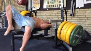 Bench Press Fail (safety bars failure)