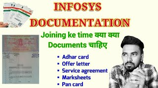 [6.04 MB] Infosys Mysore Training Documentation || Documents needed at the time of Joining || Infosys Training