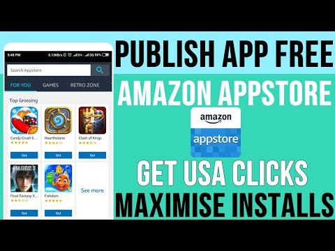 How To Upload App Free To Amazon App Store