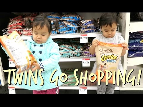 TWINS GO SHOPPING! - October 26, 2016 -  ItsJudysLife Vlogs thumbnail