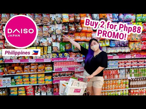 Trending! Buy 2 For 88 Promo Daiso Japan PH (Affordable Deals and Bundle Package)