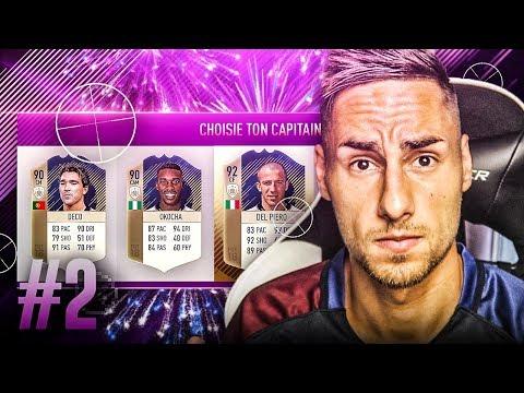 FIFA 18 - SUICIDE FUT DRAFT #2 - ICÔNE DÉFI DISCARD CHALLENGE !!!