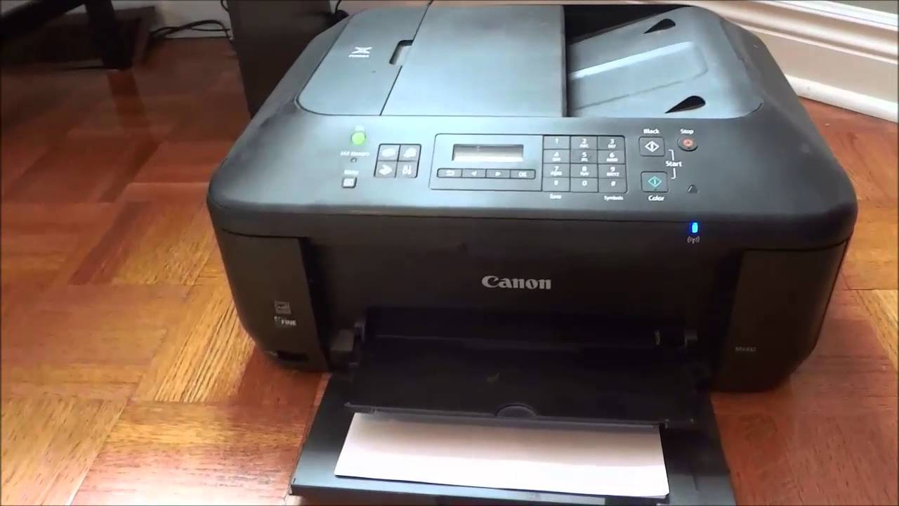 canon pixma mx452 all in one printer review youtube rh youtube com canon mx452 printer owner's manual canon pixma mx452 operating manual