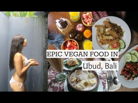 EPIC VEGAN FOOD IN BALI & OUR AMAZING RESORT | UBUD, BALI VLOG