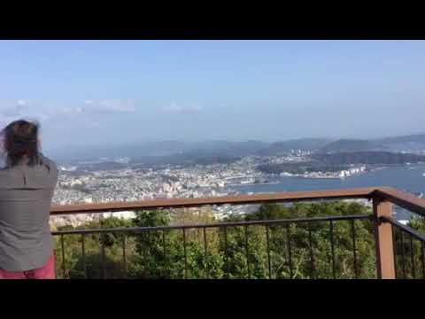 弓張の丘ホテルからの眺め