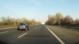 Cergy : vitesse réduite sur l'A15 à partir du 8 avril