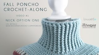Fall Poncho CAL Neck Option One Right Hand