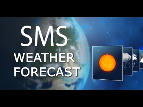 SMS Weather Forecast