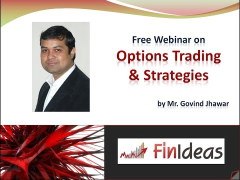 Free Webinar on Options Trading & Strategies : 12 October 2013