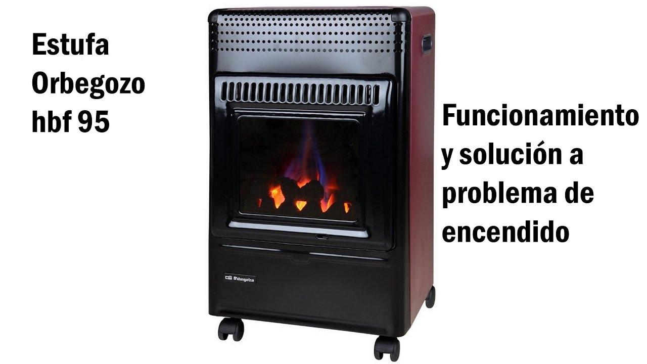Estufa orbegozo hbf 95 soluci n a problema de la llama - Chimeneas de gas butano ...