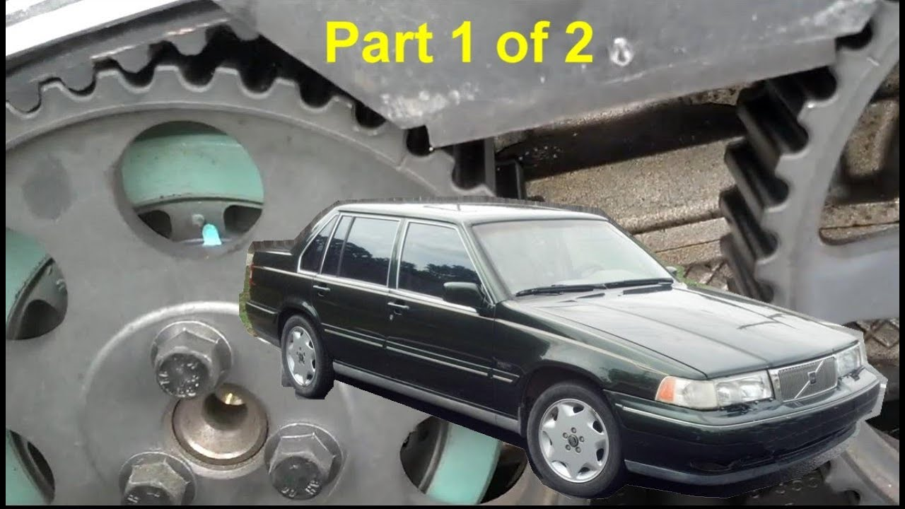 volvo 960 s90 v90 timing belt replacement part 1 of 2 auto rh youtube com Volvo 96 960 Fog Light Drawing of Volvo 960
