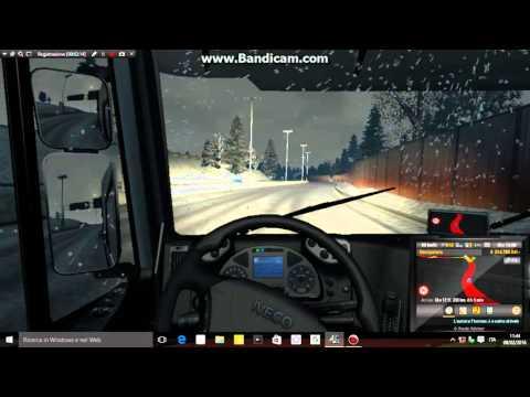 euro truck simulator 2 + canzoni + mod della neve