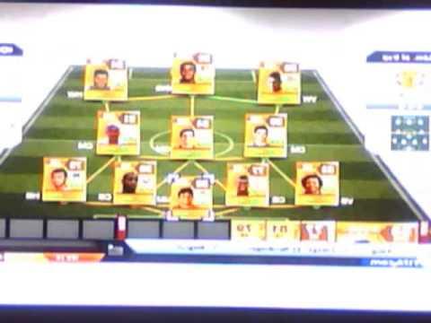 Fut 13 Brazil squad builder 200k