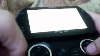 PSP - обзор установленых тем + поливаем грязью Stick Man Rescue