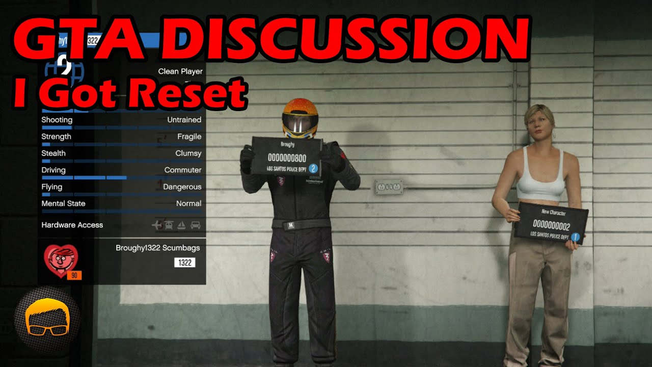 My Day One GTA Online Character Was Reset (My Story) - GTA 5 Discussion #135