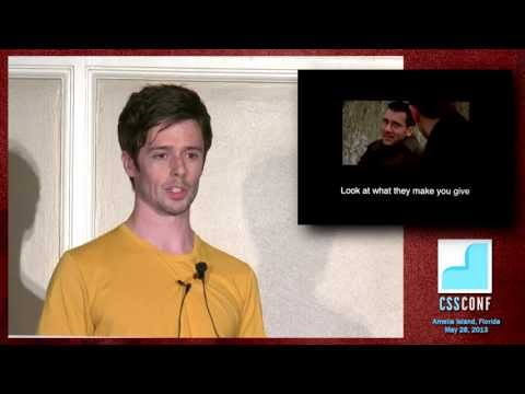 [CSSConfUS 2013] Nicolas Gallagher: The Purification of Web Development