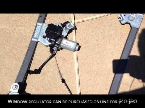 2005 Ford F150 Supercrew Window Regulator Fix