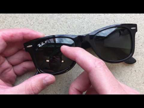 How to Remove the Ray Ban Logo with a Penny