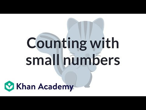 Counting With Small Numbers | Counting | Early Math | Khan Academy