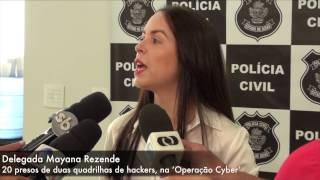 'Operação Cyber' prende 20 hackers