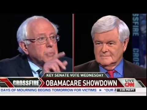 Crossfire: Sen. Lindsey Graham and Bernie Sanders on Obamacare (Part 1/3)