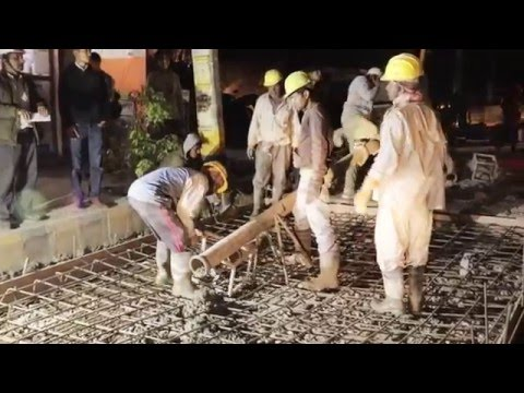 Kathmandu Road Construction | Sorhakhutte road | RMC (Readymade Mix Concrete)