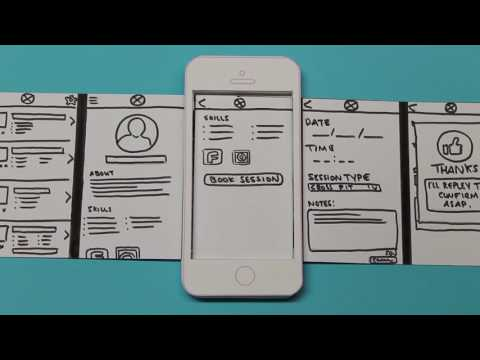 Mobile Application Design : Paper Prototype Video