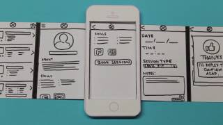 Mobile Application Design : Paper Prototype Video